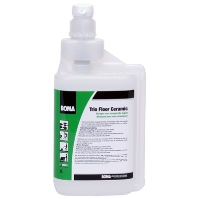 223176: Navulbare doseerfles 20 ml Dosy Multi Trio Floor Ceramic - 1 l
