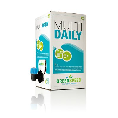 283223: Greenspeed Multi Daily - 3 l - bag-in-box - 15 talen - 4002865