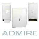Admire White Dispensers